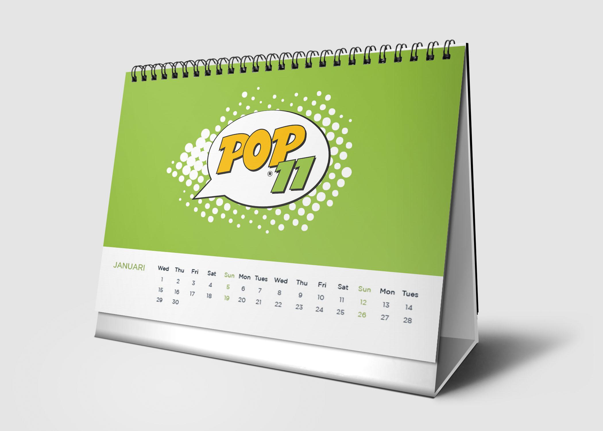 01-calendar Pop11 Digital Prints