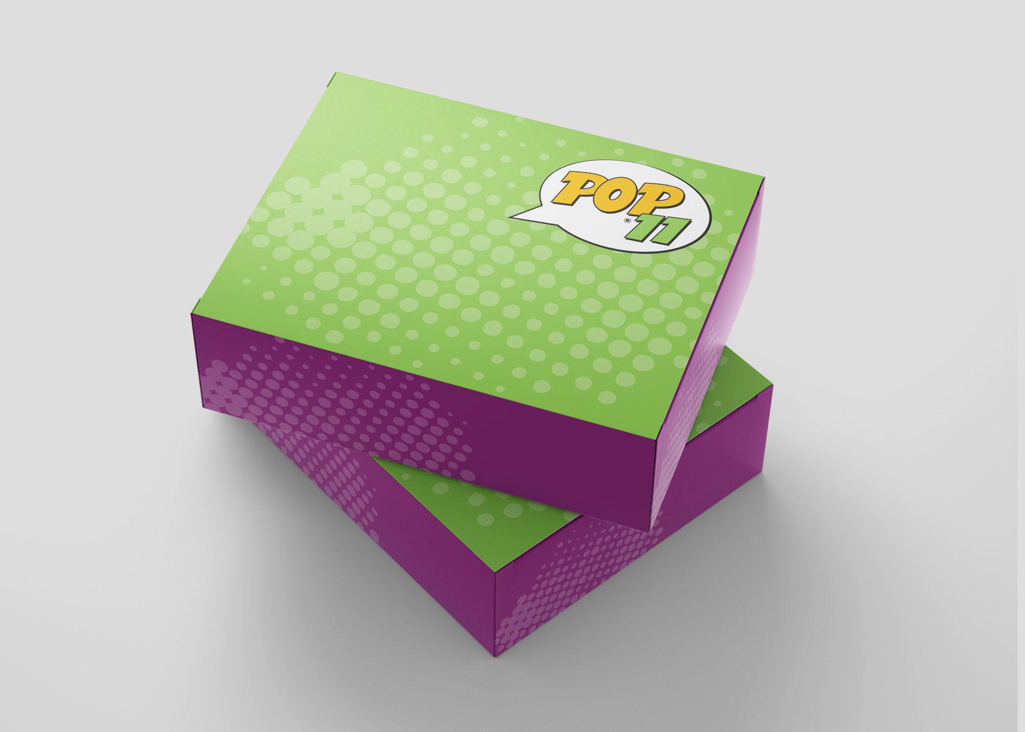 02 Box Packaging Pop11 Digital Prints