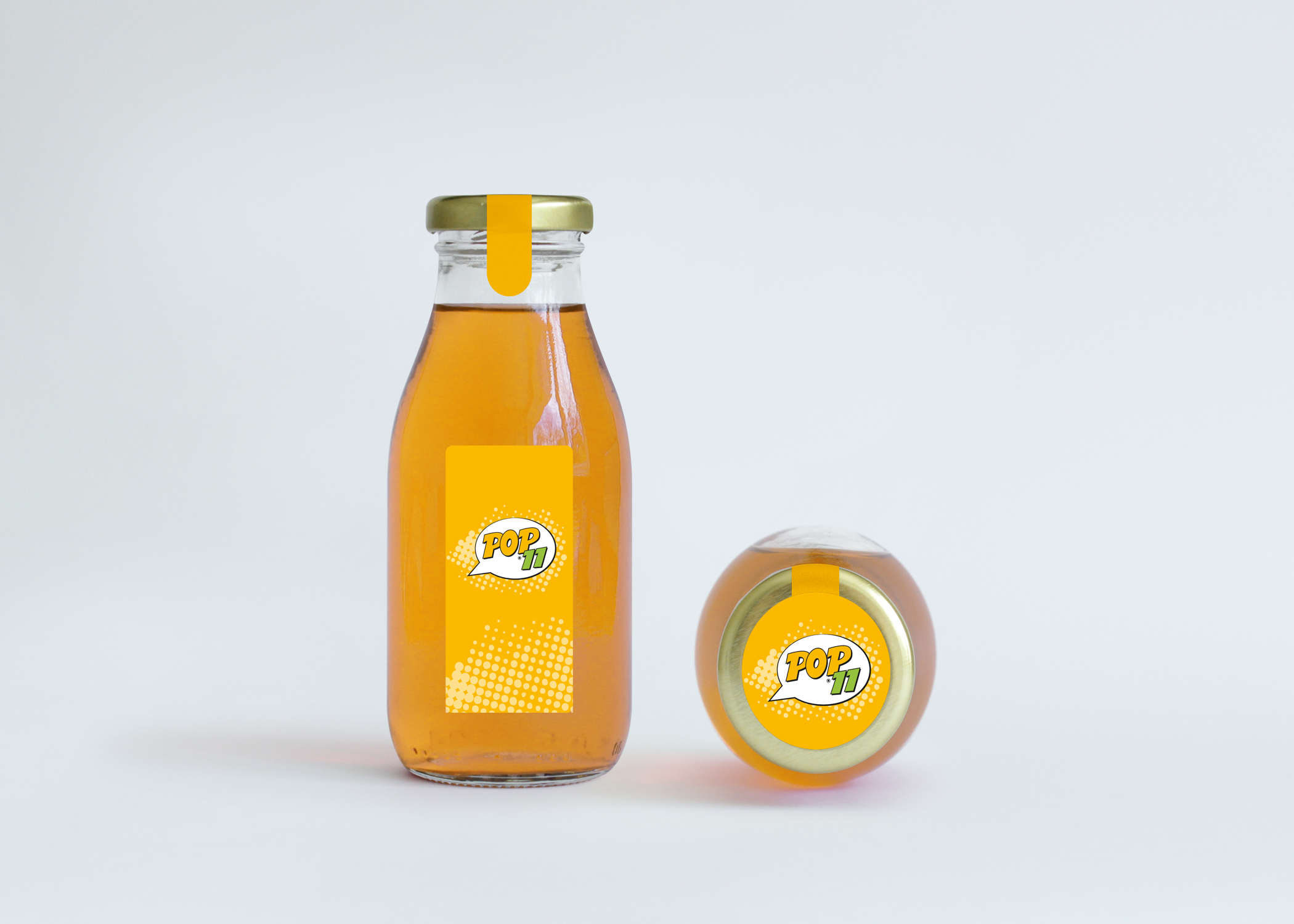 04 Pop11 Digital Prints Stickers Glass Jar