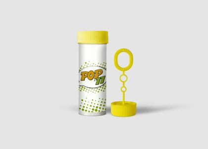 05 Pop11 Digital Prints Stickers Soap Bubbles Bottle