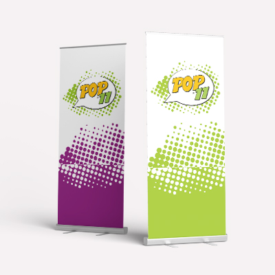 Rollup Stand Banner - Mechanism & Printing