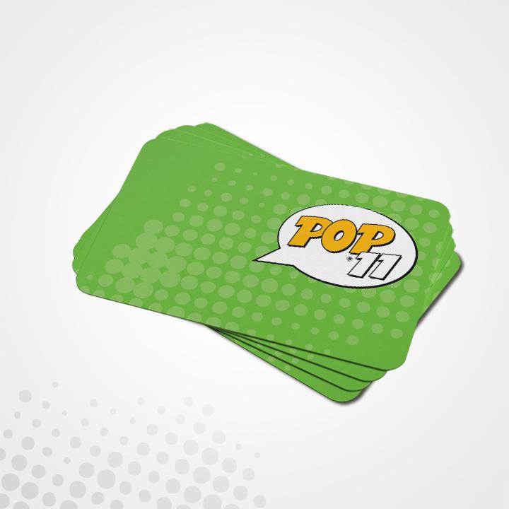 Εκτύπωση Επαγγελματική Κάρτα με στρογγυλεμένες άκρες