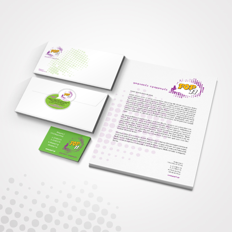 Σχεδίαση λογότυπου & εταρικής ταυτότητας