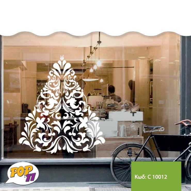 Χριστουγεννιάτικο αυτοκόλλητο βιτρίνας C10012