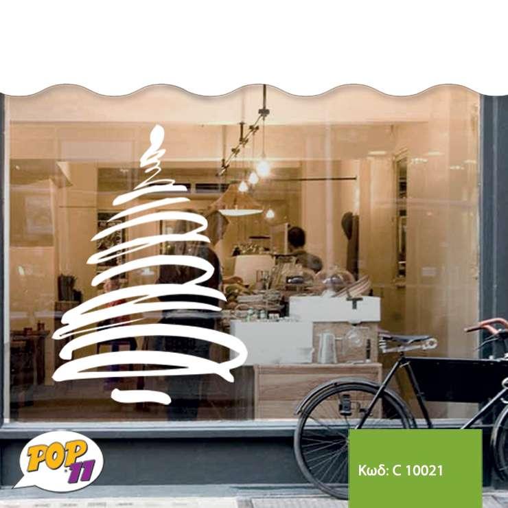 Χριστουγεννιάτικο αυτοκόλλητο βιτρίνας C10021