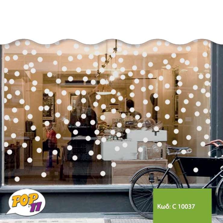 Χριστουγεννιάτικο αυτοκόλλητο βιτρίνας C10037