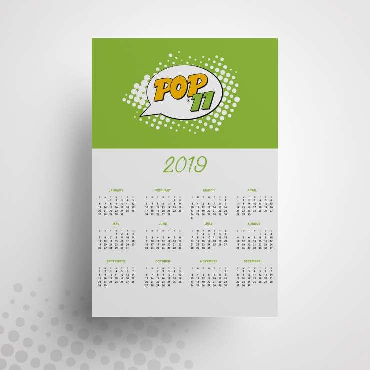 Εκτύπωση Ημερολόγιo τοίχου 2020