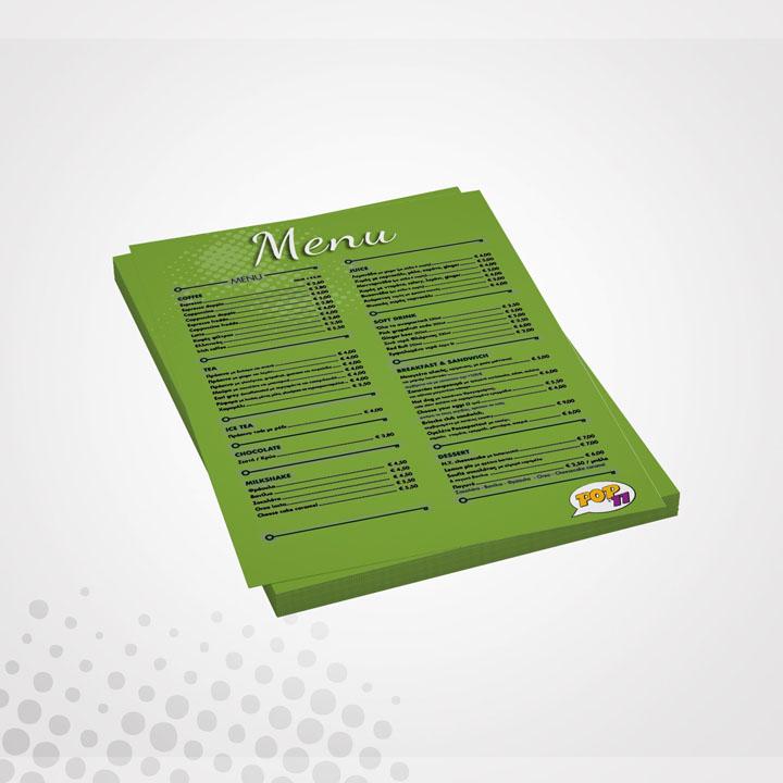 Εκτύπωση Μονόφυλλο Φυλλάδιο Delivery